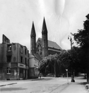 Pfarrkirche St. Nikolaus um 1950